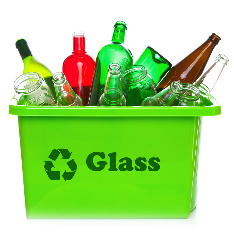 Broken Glass Waste Disposal